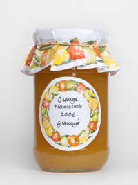 Marmalade labels and covers